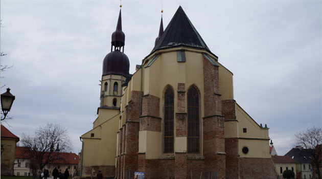 The Basilica of St. Nicholas in Trnava, Slovakia. (PHOTO:  Kiwiev, Wikimedia Commons)