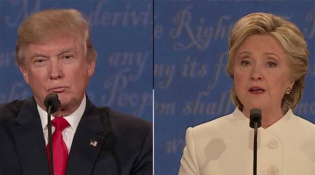 The 2016 US presidential candidates, Donald Trump and Hillary Clinton (PHOTO: Czech Television)