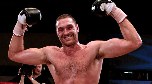 Tyson Fury (PHOTO: Skysports.com)