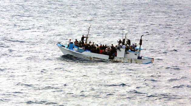 Asylum-seekers coming to Europe by sea. (PHOTO:  Wikipedia.org)