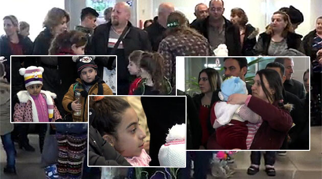 A third group of Christian refugees from Iraq arrived on 19 February 2016 to Prague. Of the 41 people, 33 flew directly from the Iraqi city of Irbil and eight from Lebanon. (PHOTO:  iDNES.cz, collage:  Romea.cz)