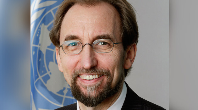 United Nations High Commissioner for Human Rights Zeid Ra'ad Al Hussein (PHOTO:  www.un.org)