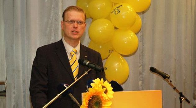 Pavel Bělobrádek,  Leader of the Christian and Democratic Union – Czechoslovak People's Party of the Czech Republic and Deputy Prime Minister for Science, Research and Innovation (2015).