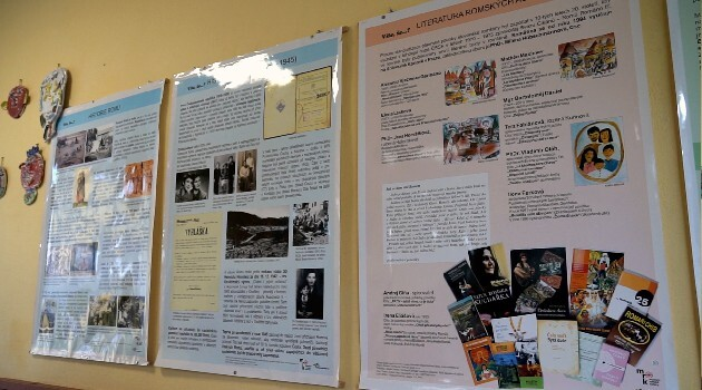 Posters for primary schools with Romani subject matter, authored by Cesta do školy s.r.o. in collaboration with the Museum of Romani Culture in Brno. (2021)