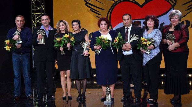 Winners of the eighth-annual Roma Spirit Awards in 2016 in Slovakia. (PHOTO:  Roma Spirit Slovakia)